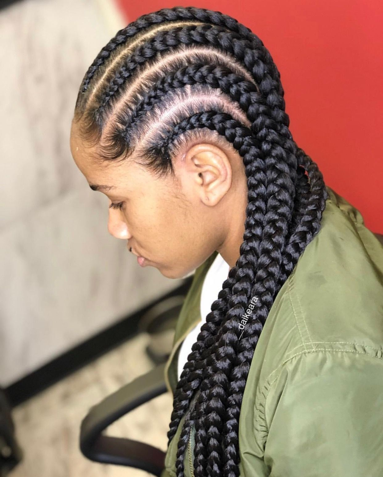 Pin by timeeka moore on braids loc extensions u twists pinterest