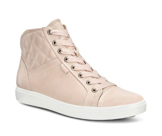 5a72136bc4d07 ECCO Soft 7 Quilted High Top (ROSE DUST ROSE DUST)
