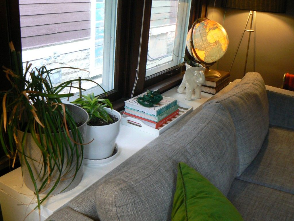 How To Build A Behind The Couch Table Little House Design