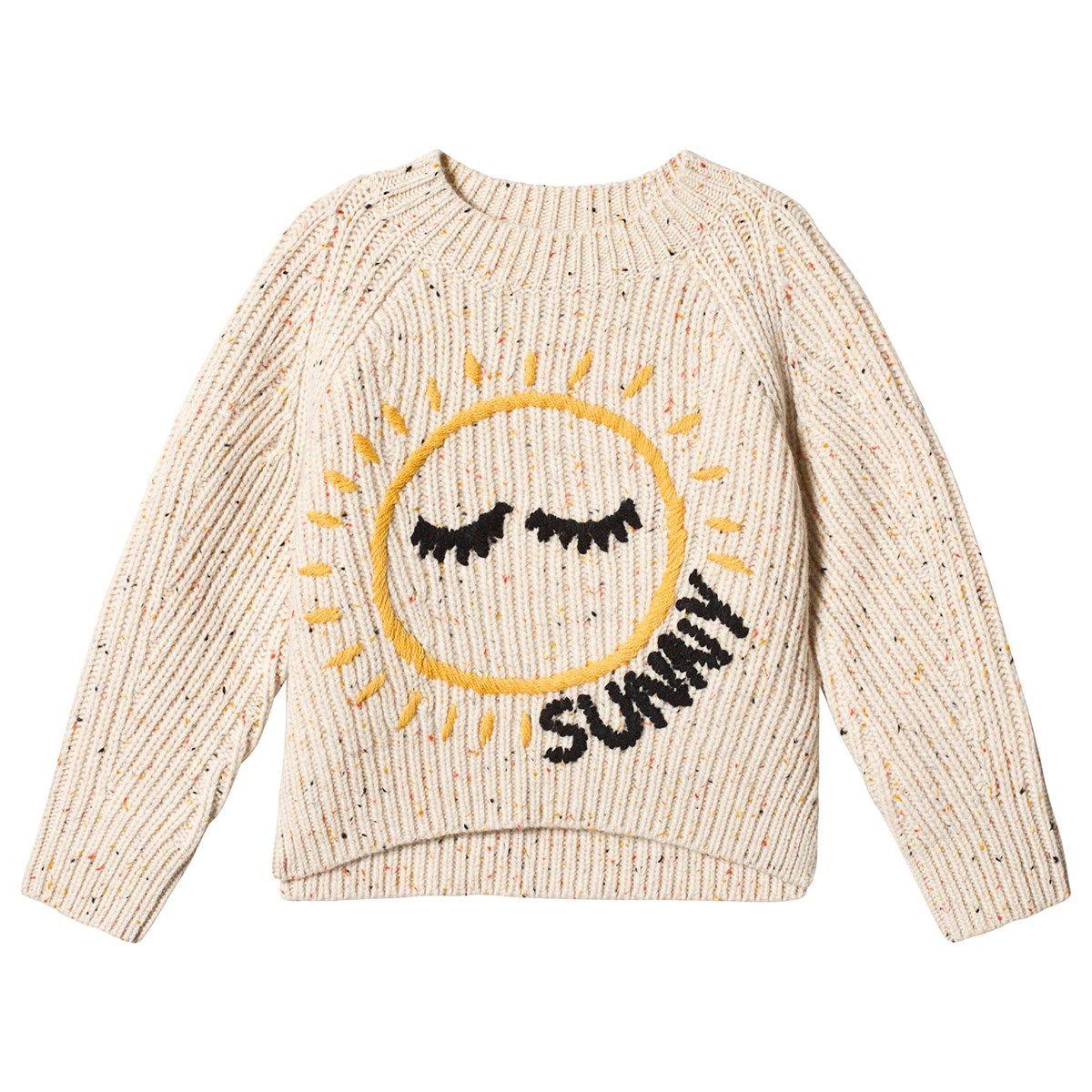 Burberry Beige Bella Sun Knitted Jumper | AlexandAlexa