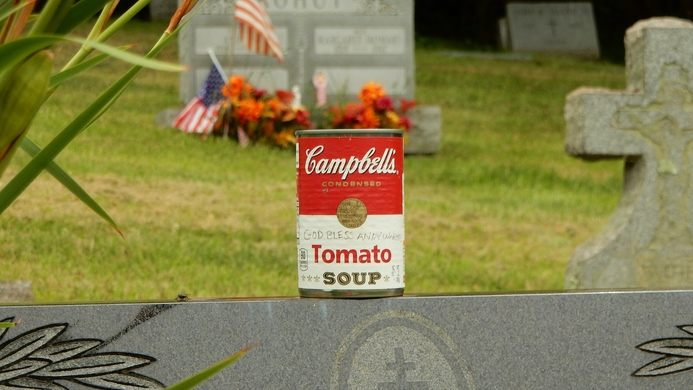 Grave of Andy Warhol Northern & Mid East coast Andy