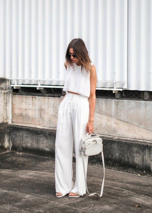 Como usar Pantalones Blancos #GetTheLook