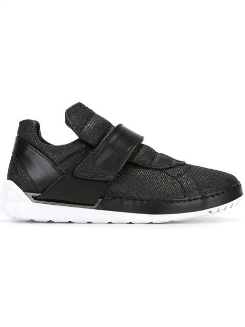 DIESEL velcro strap sneakers. #diesel