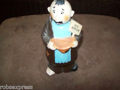 Vintage fairylite six #nippers monk begging #decanter, View more on