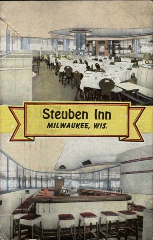 German Restaurant from Milwaukee's Past  | Old German