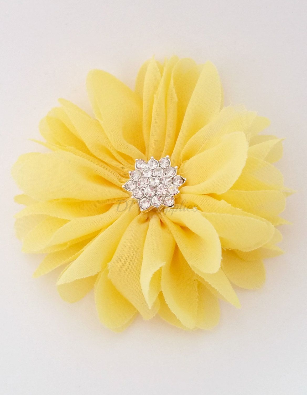 Diy Supplies Wholesale Flower Hair Bow Supplies Fabric Flowers