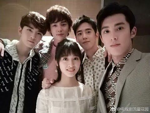 Meteor Garden Cast 2018 The New Shan Cai And F4 Youtube Meteor Garden Cast Meteor Garden Meteor Garden 2018