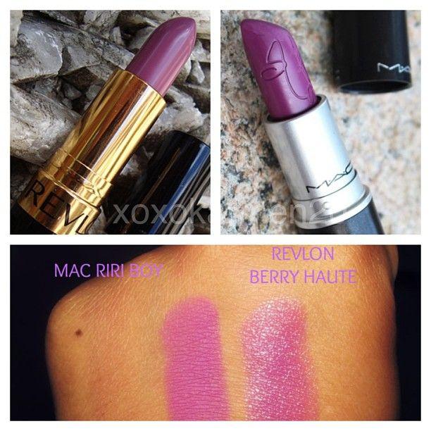 #dupe for MAC Riri Boy Revlon Berry Haute | Makeup Dupes ...