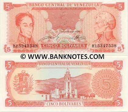 5 bolivares