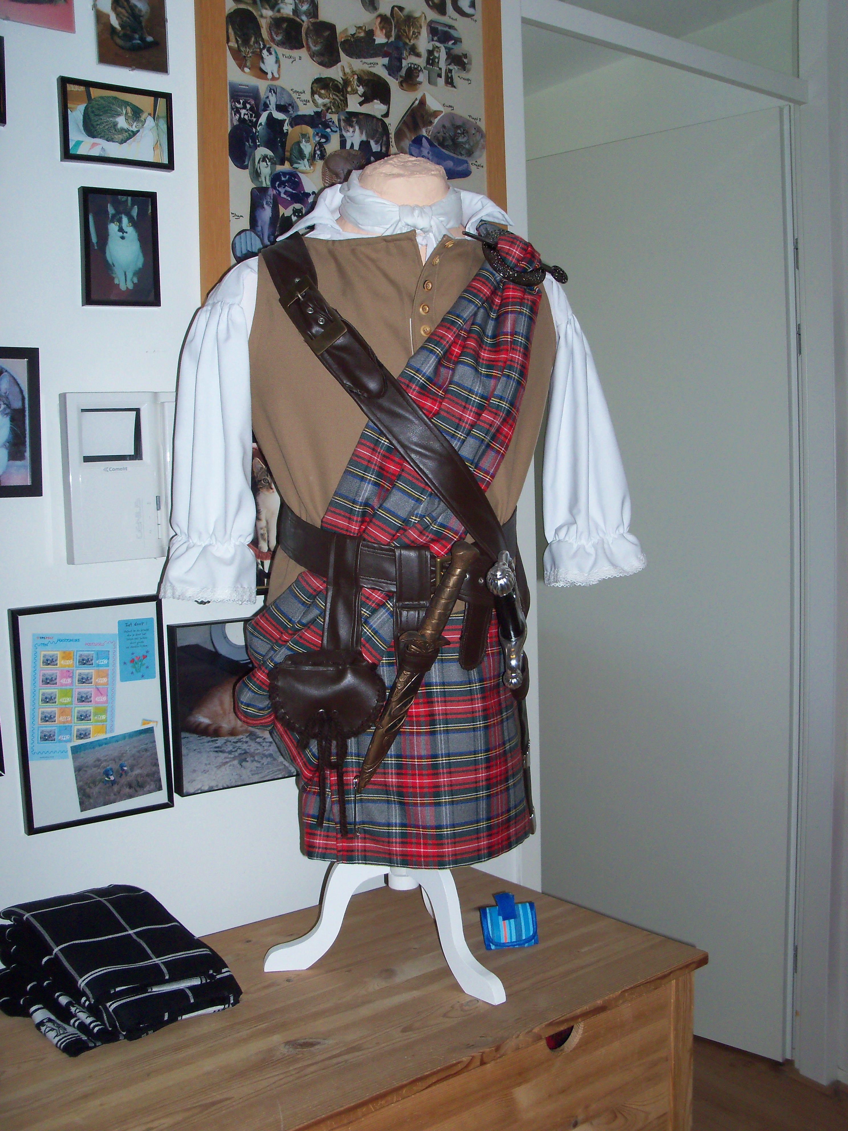 mijn eigen Highlander.