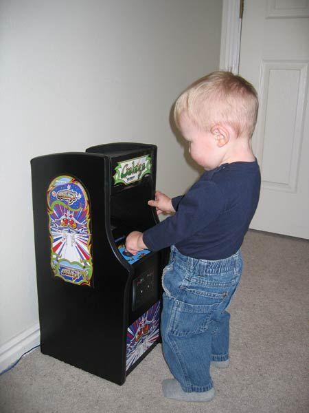 Mini Galaga Arcade Machine | Melarky | Arcade cabinets | Pinterest ...