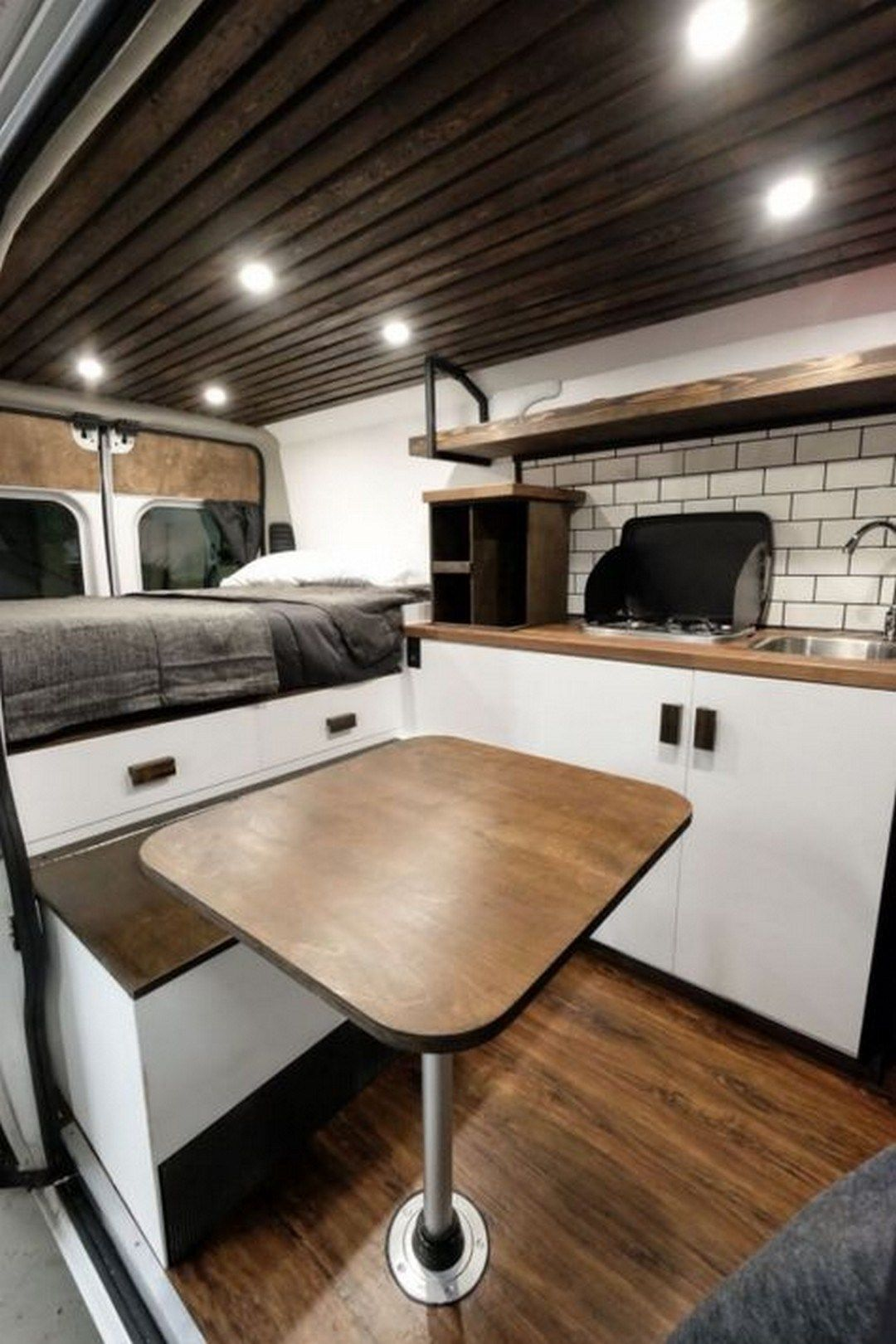 Best sprinter van conversion interior design 44