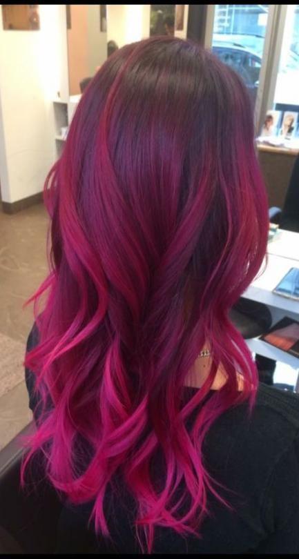 21 Ideas Hair Color Purple Ombre Magenta 21 Ideas Hair Color Purple Ombre Magenta Ombre Hair pink and purple ombre hair