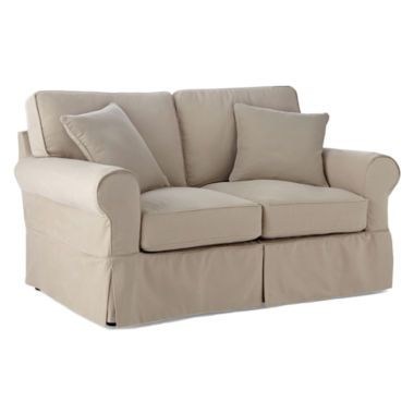 Friday Brushed Canvas Extra Slipcovers Found At Jcpenney