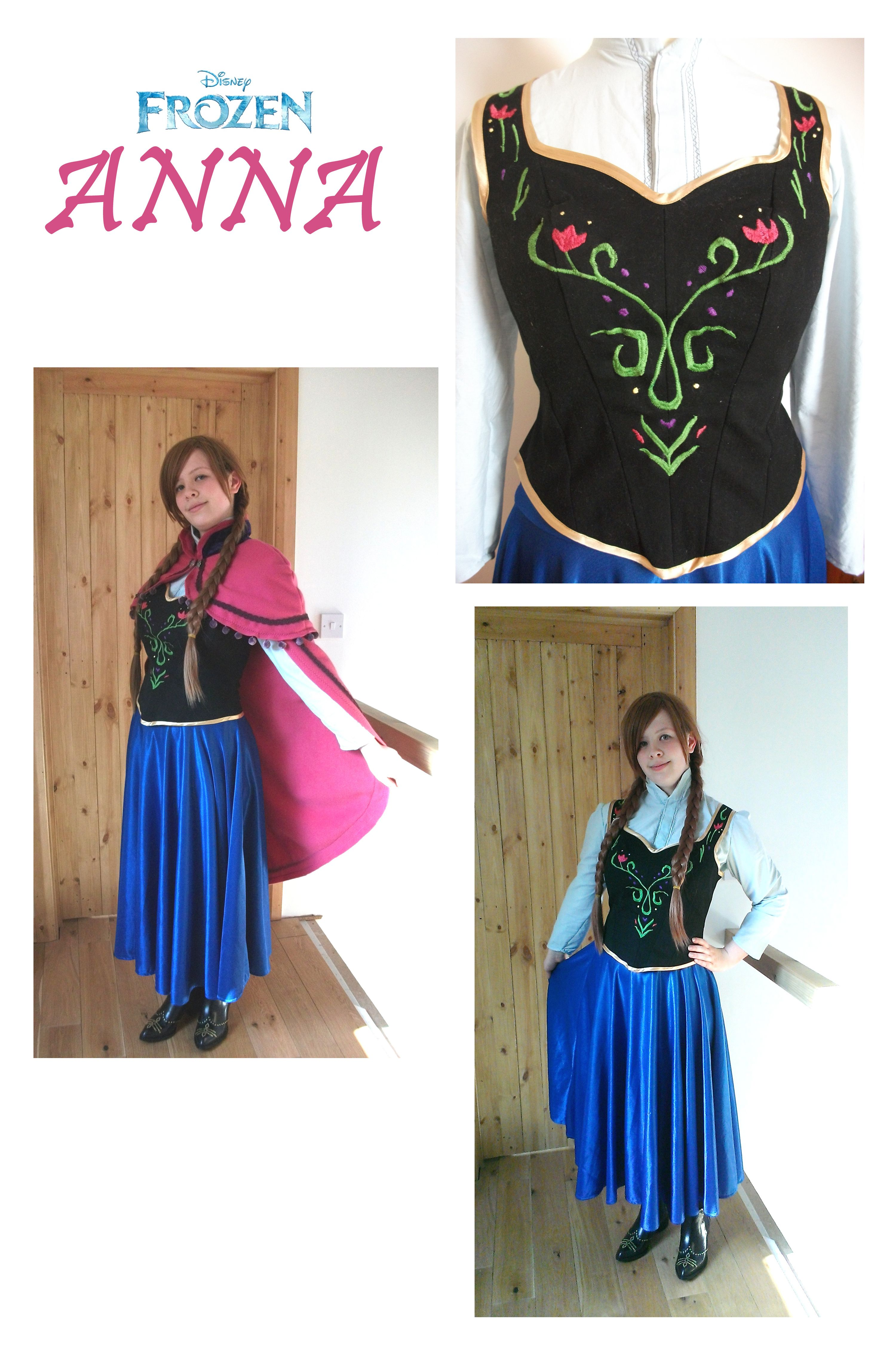 My Anna (Frozen) Cosplay. I made this last minute because it was too hot to wear my Loki cosplay to comicon!