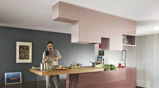 Cuisine Amenagee Meuble Haut Suspendu Placard Haut Cuisines Design Cuisine Moderne Meuble Cuisine