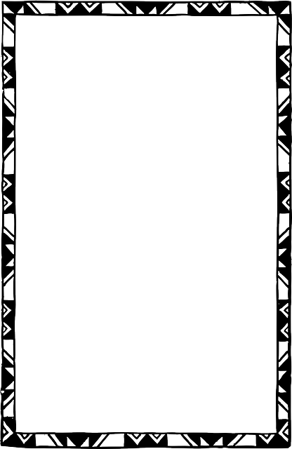 free frames and borders png black decorated frame white free image
