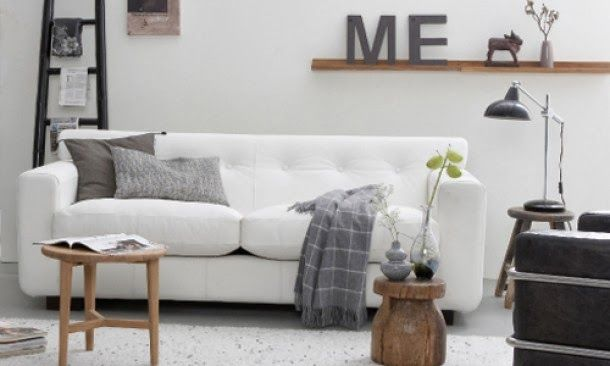 Interieur grijs wit hout interieur idee n idee n voor for Huis interieur ideeen