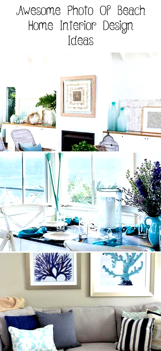 Awesome Photo of Beach Home Interior Design Ideas. No matter what kind of dwelling you decide to call home, you can produce an inspired, beach house haven by incorporating color, wooden accessories, fr...,  #beachhomeinteriordesignideas #beachhousesinteriordesignideas, #InteriorDesign2019 #InteriorDesignDIY #InteriorDesignLivingroom #VintageInteriorDesign #InteriorDesignBathroom
