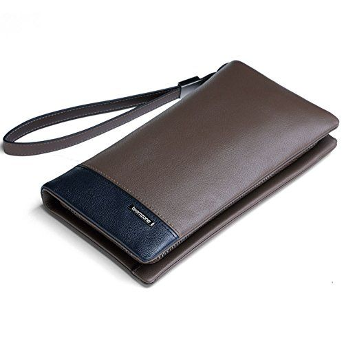 Teemzone Herren Geldbörse Mann Geldbeutel Geldtasche Handgelenktasche Portemonnaie Echtes Vollrindleder Mit Zipperfach Unterarmtasche (Unterarmtasche) teemzone http://www.amazon.de/dp/B00XBM9TAG/ref=cm_sw_r_pi_dp_9AQ1wb1FKC2MM