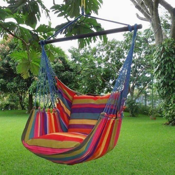 Havana Flair Single Person Hammock Chair/Swing