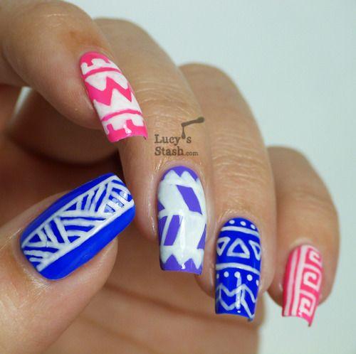 Nail art tumblr nails pinterest fun nails nail art tumblr prinsesfo Gallery