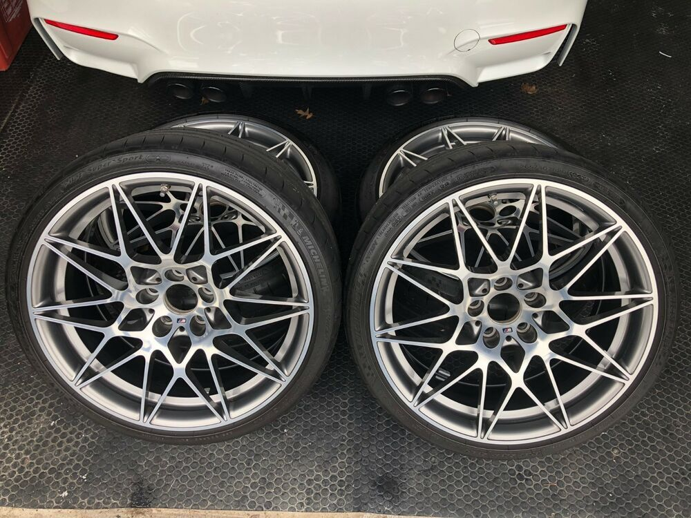 20 Oem Bmw Wheels 666m F80 F82 F87 M2 M3 M4 Competition Package