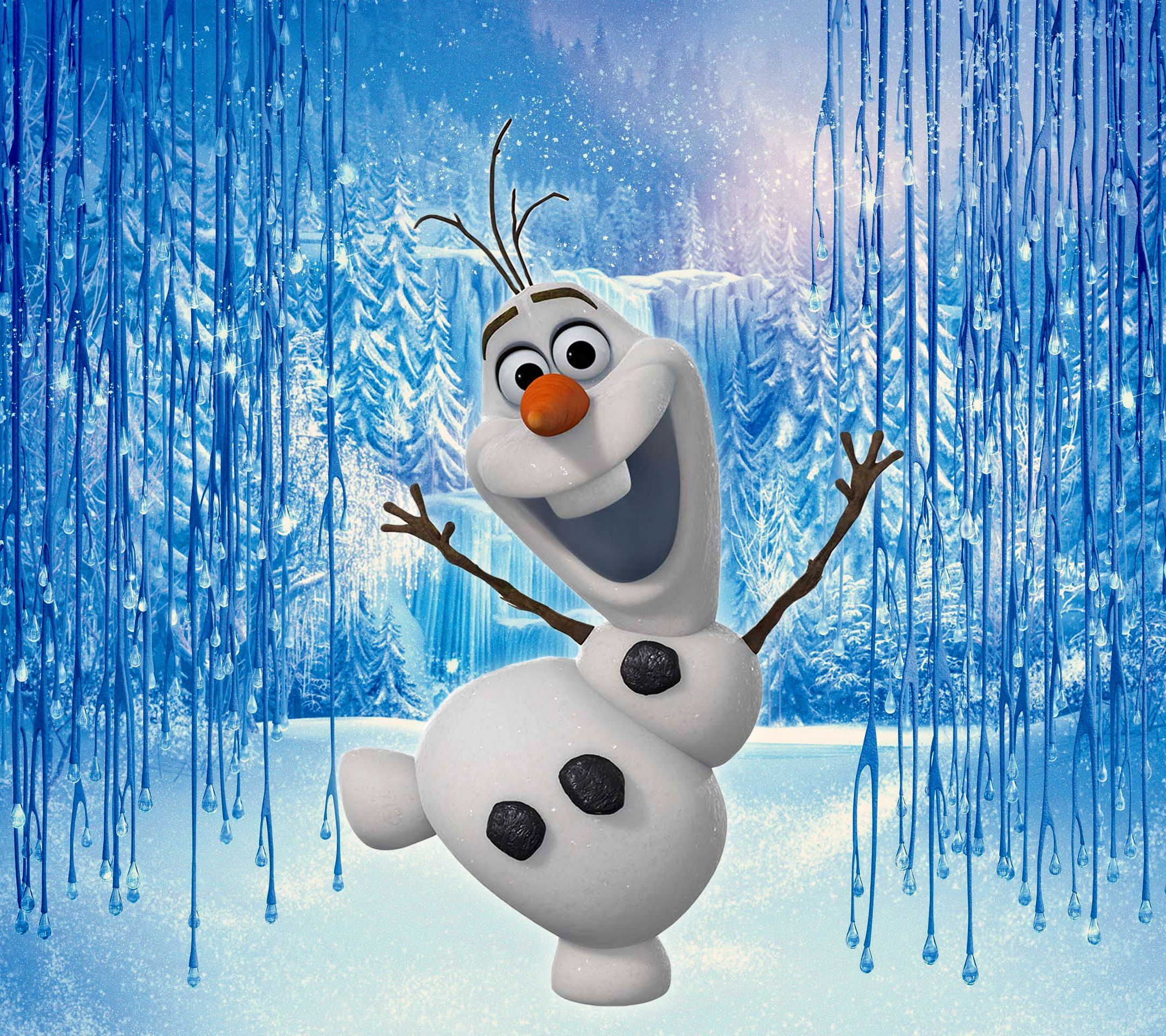 Olaf Wallpaper Olaf Frozen Wallpaper Papel De Parede Para