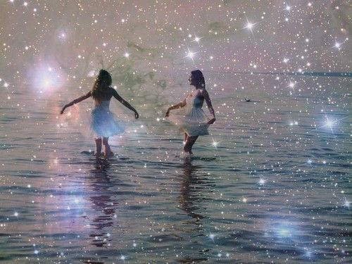 sparkles everywhere
