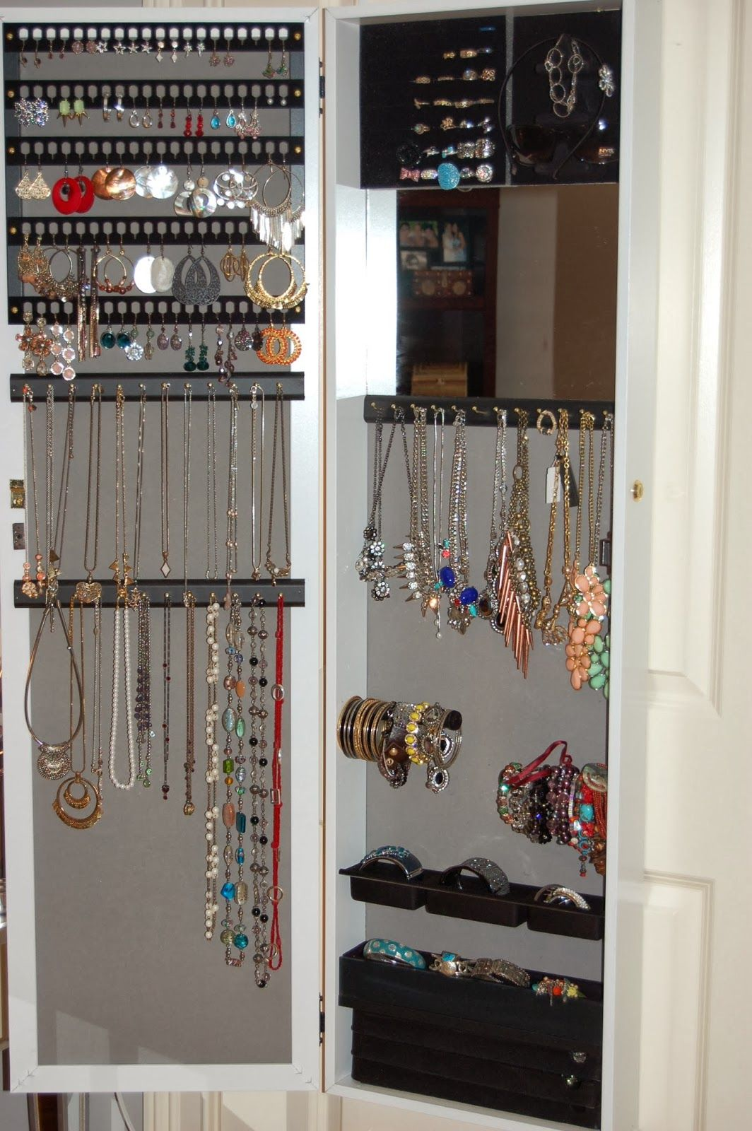 Jewelry Organization and Storage HSN Jewelry Armoire The Beauty