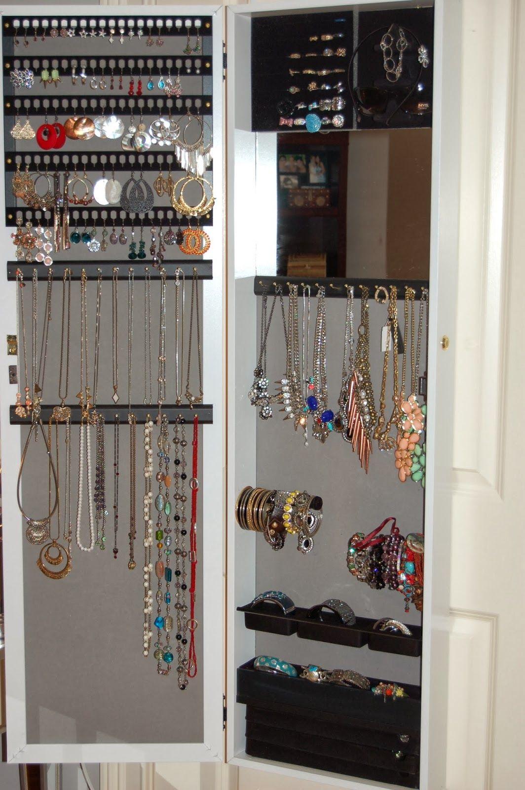 Jewelry Organization and Storage - HSN Jewelry Armoire | The Beauty Isle & Jewelry Organization and Storage - HSN Jewelry Armoire | The Beauty ...