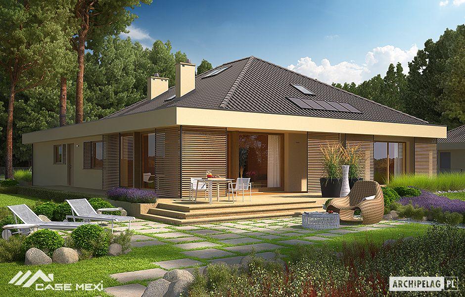 Case Moderne Con Piscina : Case moderne rendering d di stupenda villa con piscina nel tardo