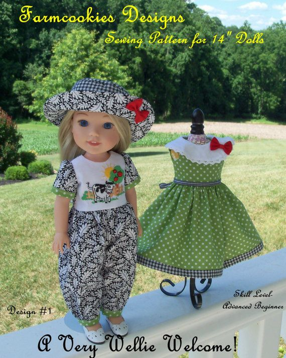 PDF Sewing Pattern A Very Wellie Welcome Sewing Pattern For Simple Wellie Wishers Clothes Patterns