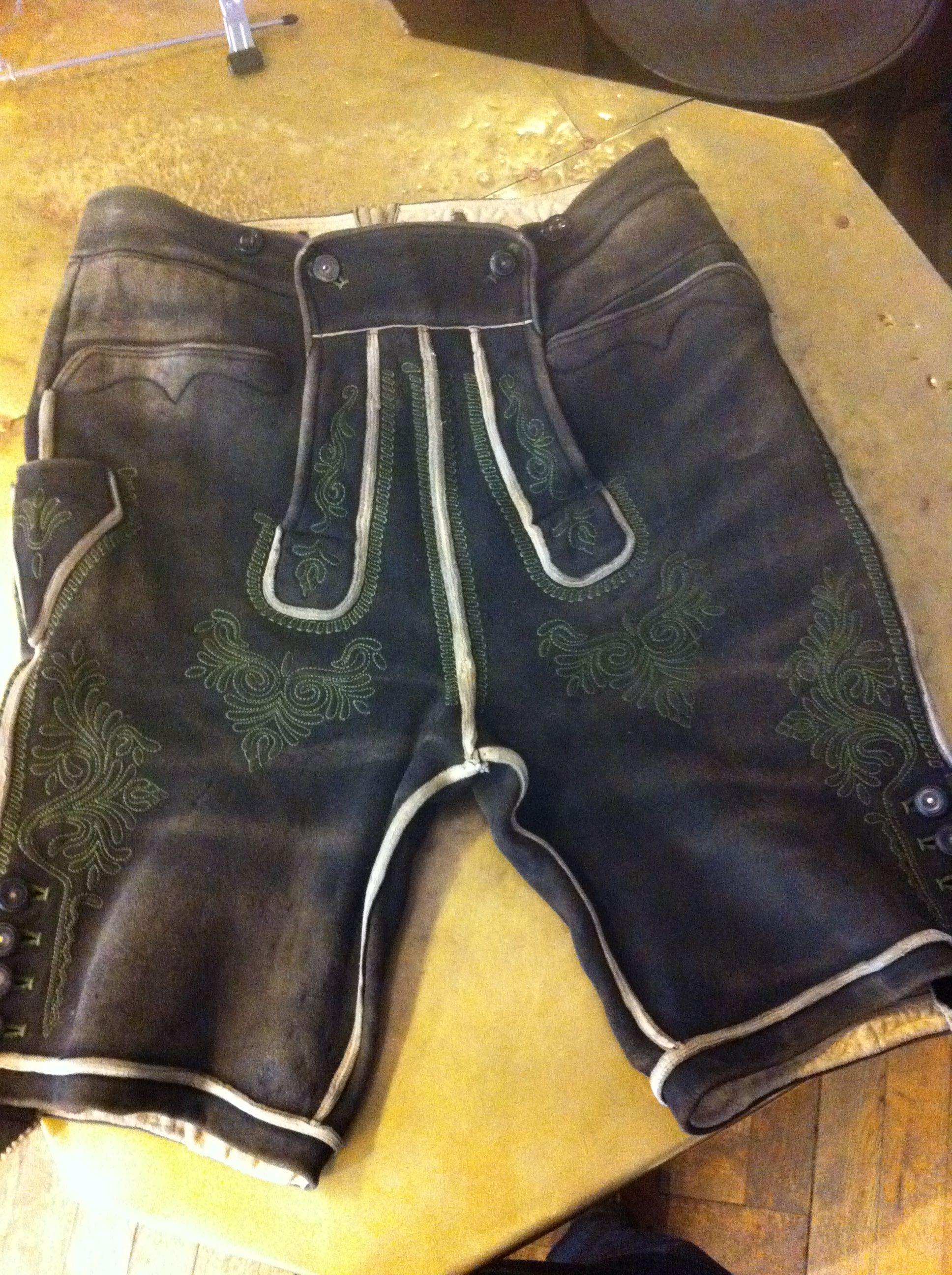 Antike Ausseer Lederhose By Trachtensachde Lederhosen