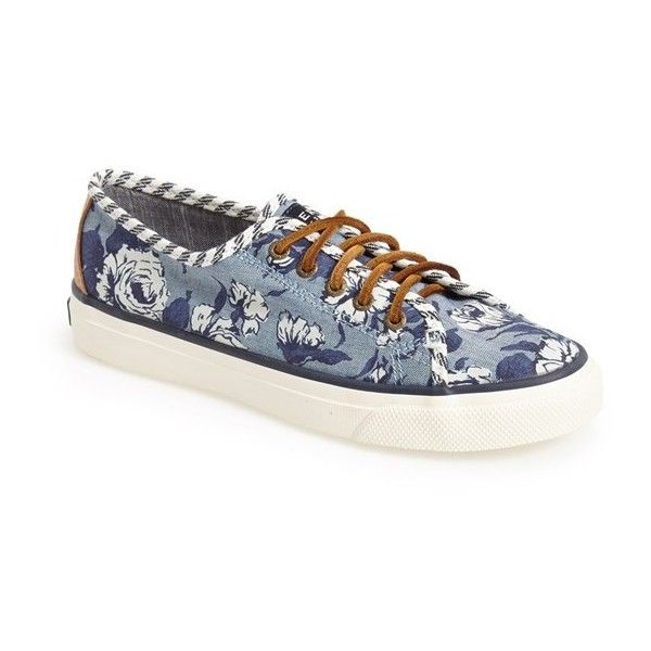 Womens Seacoast Fish Crcle Coral Low-Top Sneakers Sperry Top-Sider tC34x5k