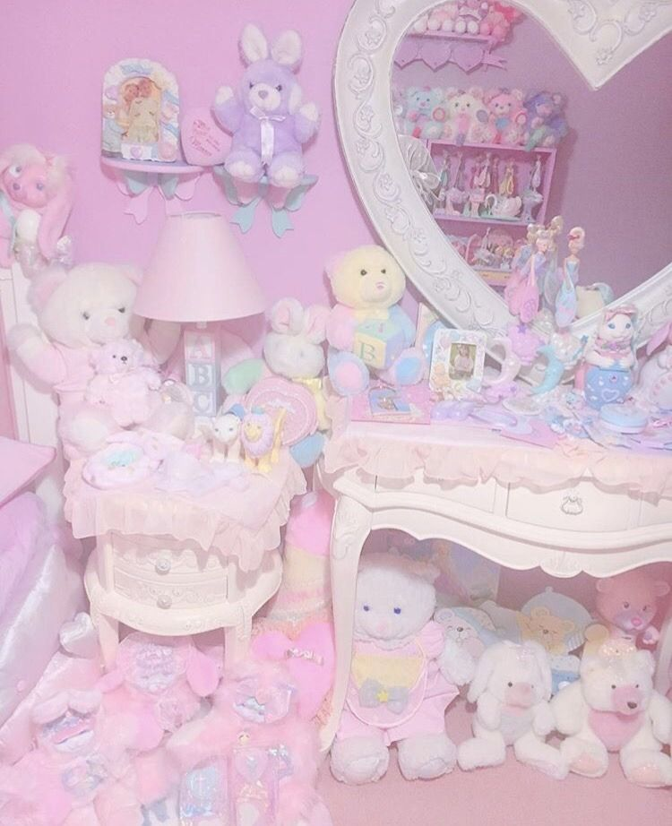 Kawaii Pastel Bedroom Pastel Bedroom Kawaii Room