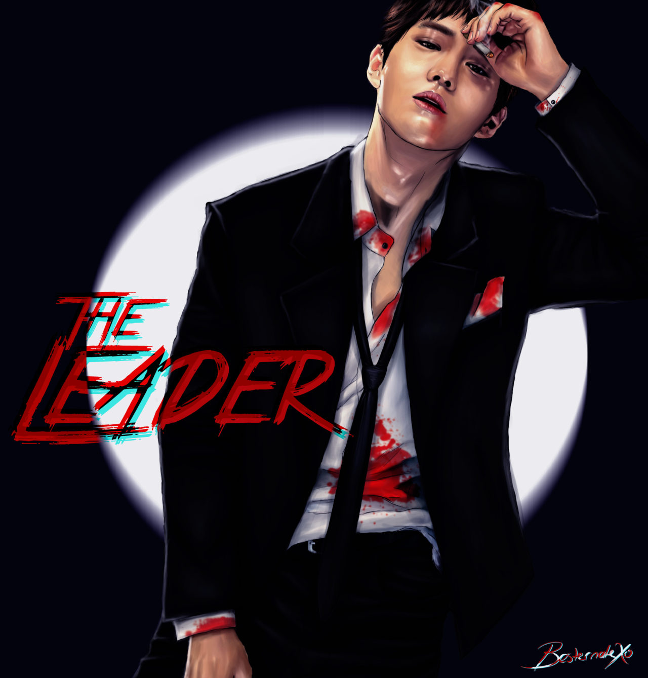 The Leader EXO Mafia AU Series 1/9 Xiumin, Suho, Lay