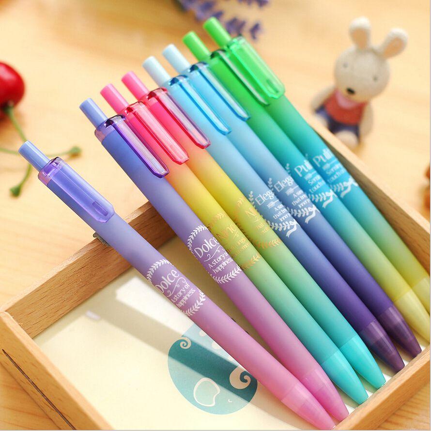Pas cher 48 pcs lote neutre stylo dreamy couleurs 0 5 mm for Acheter fournitures de bureau