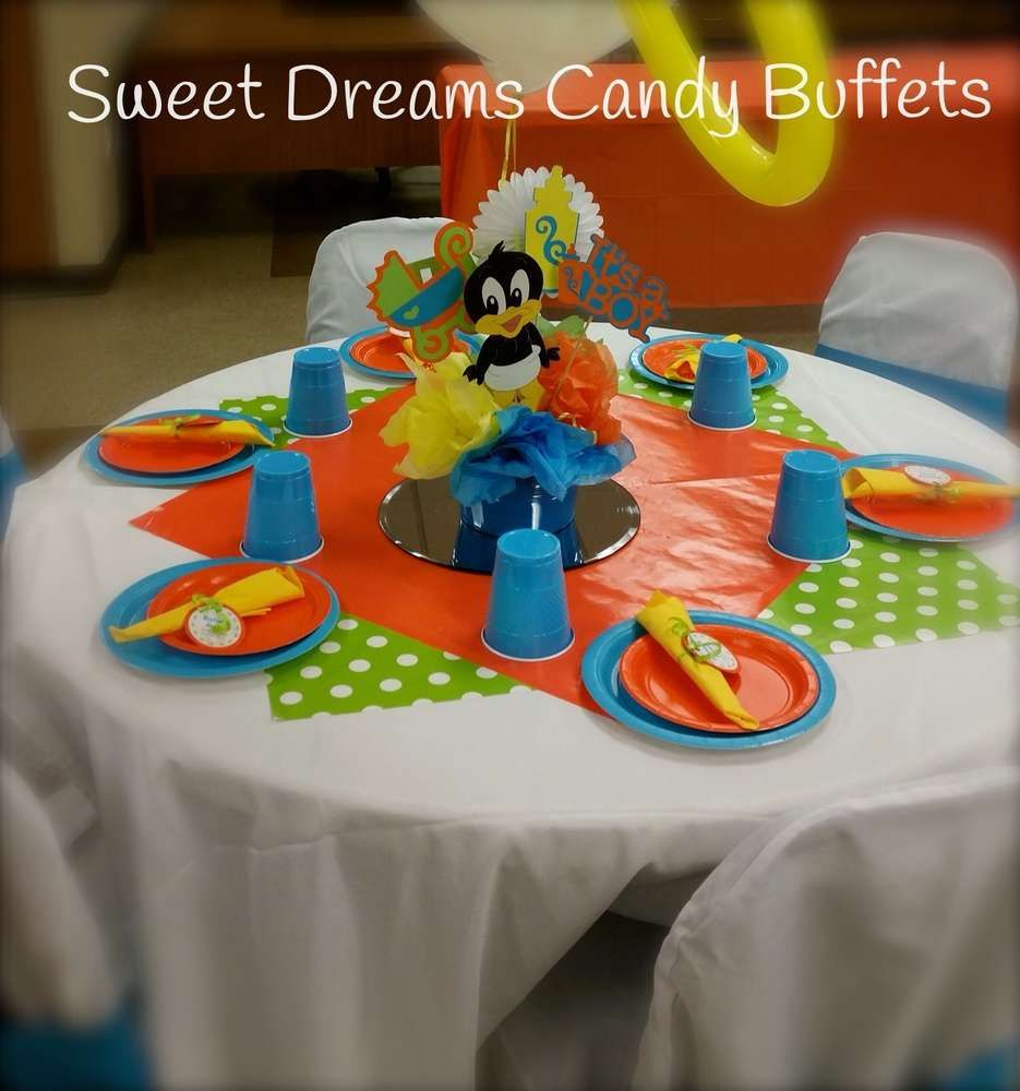 High Quality Baby Looney Tunes Baby Shower Party Ideas