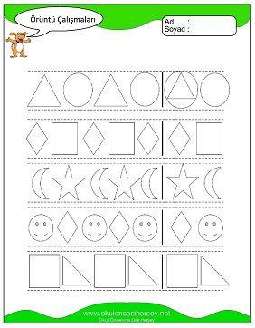 Oruntu Ve Suslemeler Matematik Suslemeler Okul