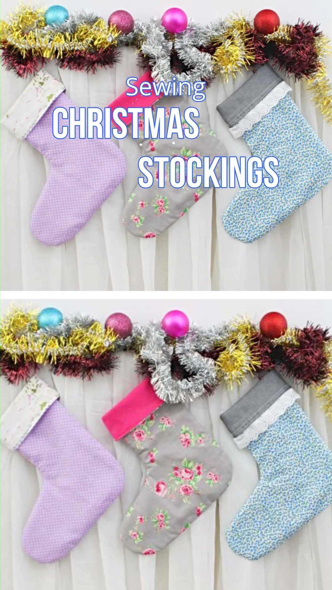 Photo of CHRISTMAS STOCKING SEWING TUTORIAL