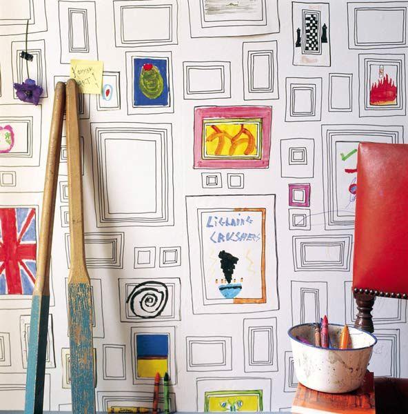 Papel de pared para pintar.