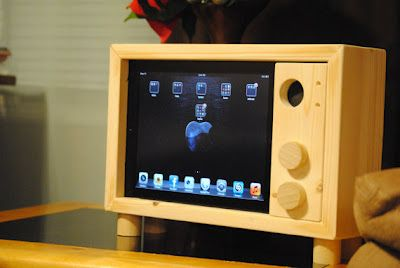 15 Creative Ipad And Iphone Stands And Holders Wall Mounted Tv Iphone Stand Tv Wall