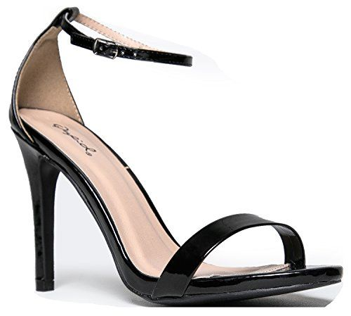 Grammy-01 High Heel Skinny Ankle Strap Sandal Flats * Details can be found by clicking on the image. We are a participant in the Amazon Services LLC Associates Program, an affiliate advertising program designed to provide a means for us to earn fees by linking to Amazon.com and affiliated sites.