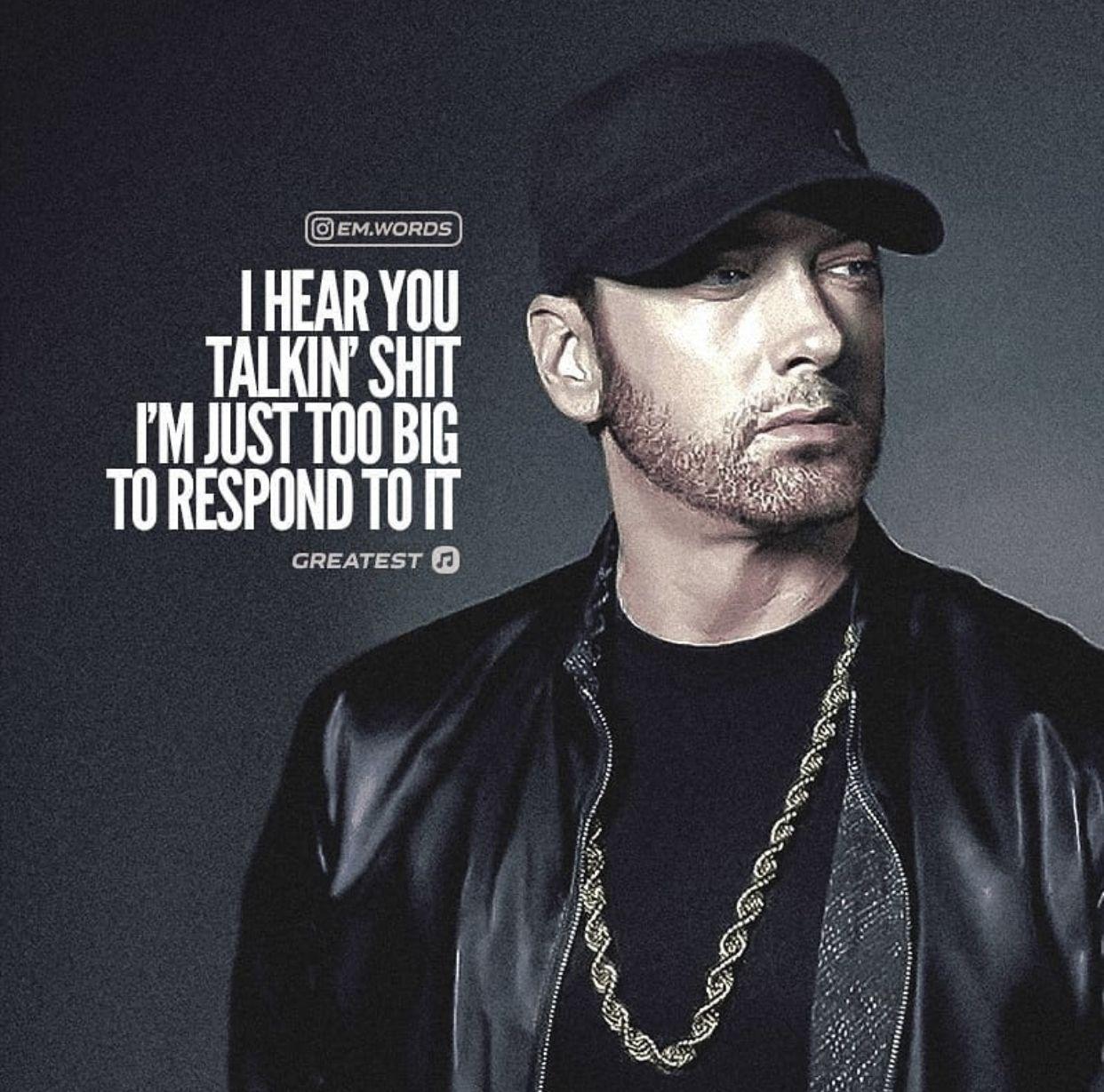 Pin by Jackie Trujillo on Eminem   Eminem quotes, Rap ...
