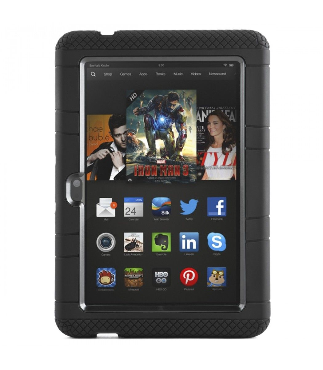 Armorbox 2 layer tough case for kindle fire hdx 7 2013