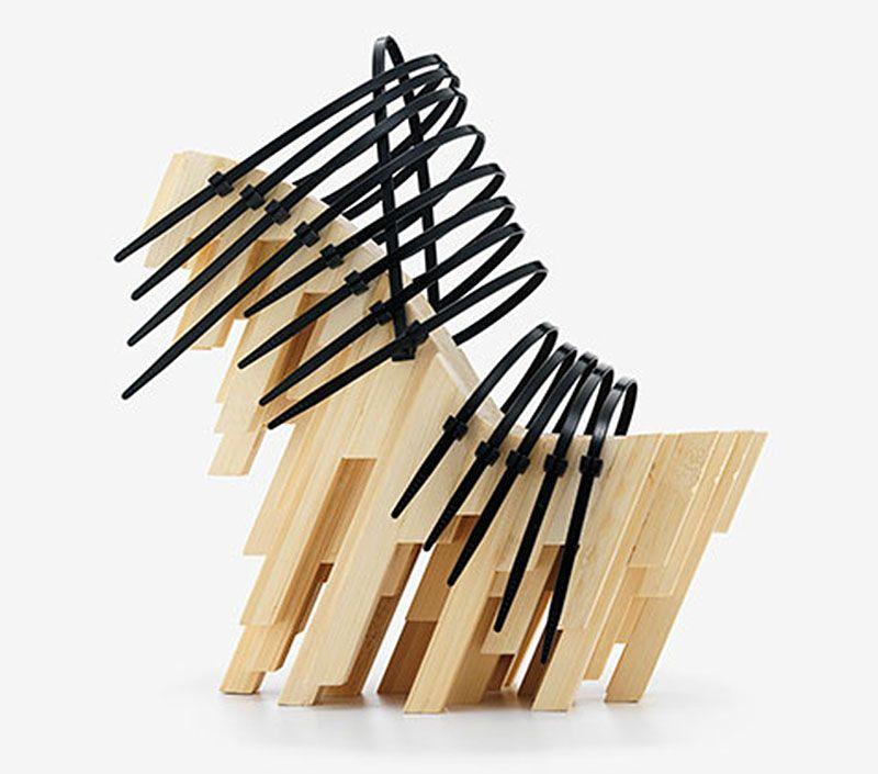 "Winde Rienstra. ""Bamboo Heel,"" 2012."