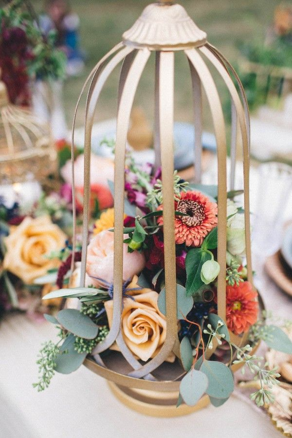 Elegant autumn floral design   Marina Mauletkali Photography