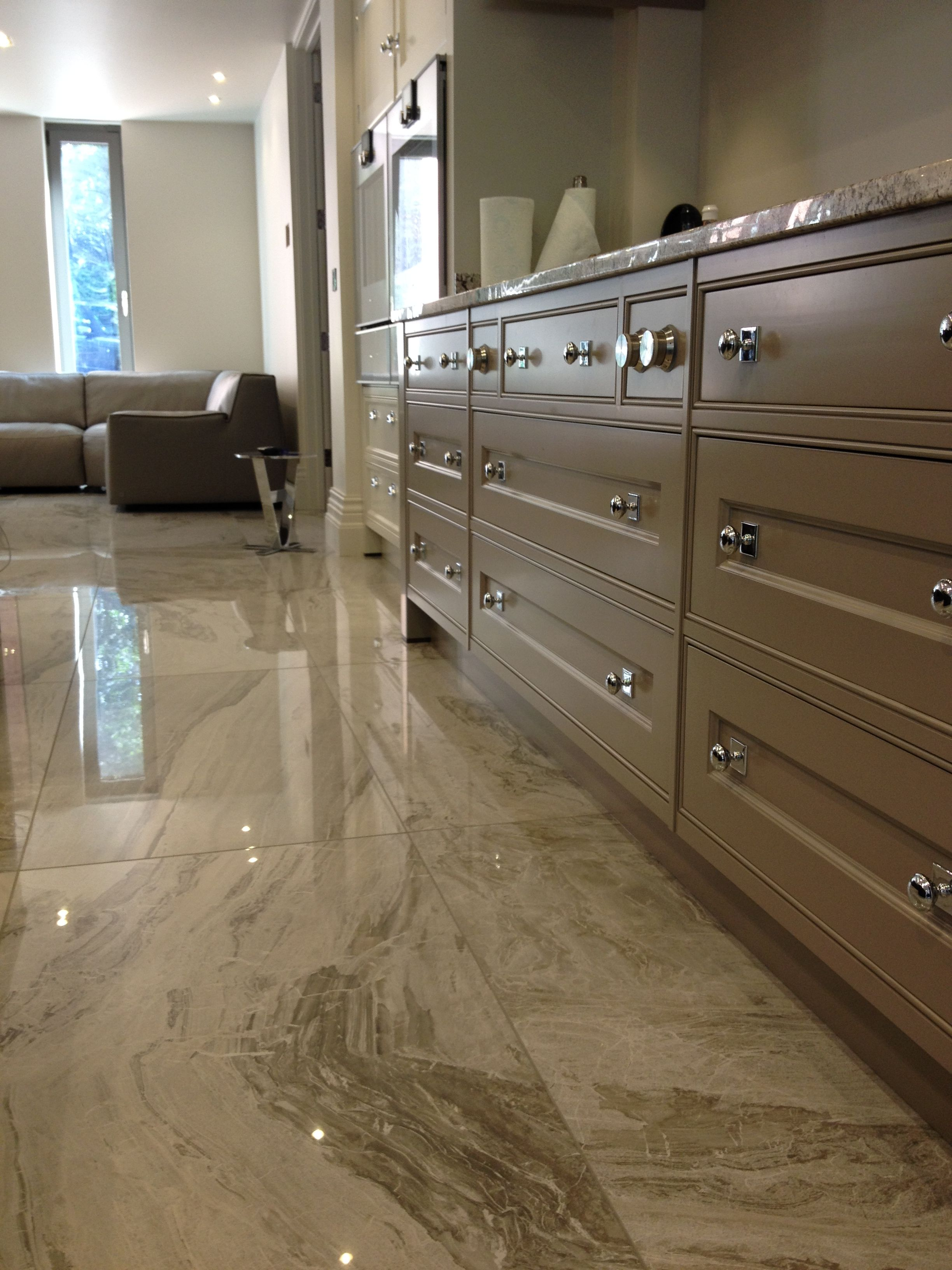 Marble Grey Polished Porcelain The Perfect Complement To