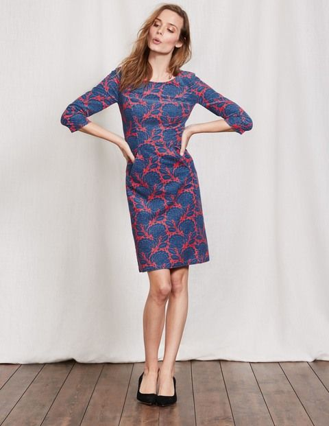 c5aa293239f This easy cord dress has a secret weapon. Is it the lush fabric, perfect  for those in-between seasons? Or the playful print options? Or even the seam  ...